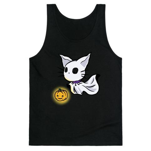 Ghost Cat Tank Top