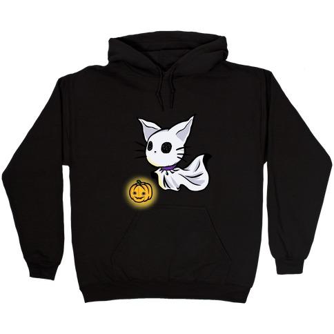 Ghost Cat Hooded Sweatshirt
