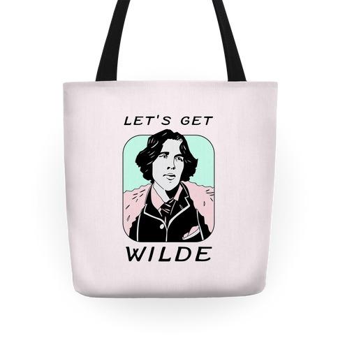 Let's Get Wilde (Oscar Wilde) Tote