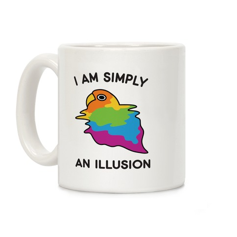 Bird Illusion Coffee Mug