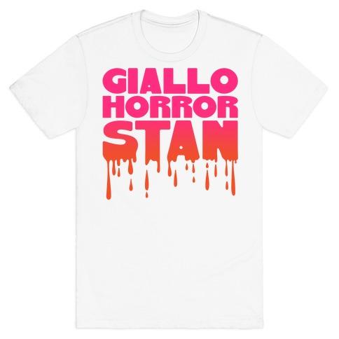 Giallo Horror Stan T-Shirt