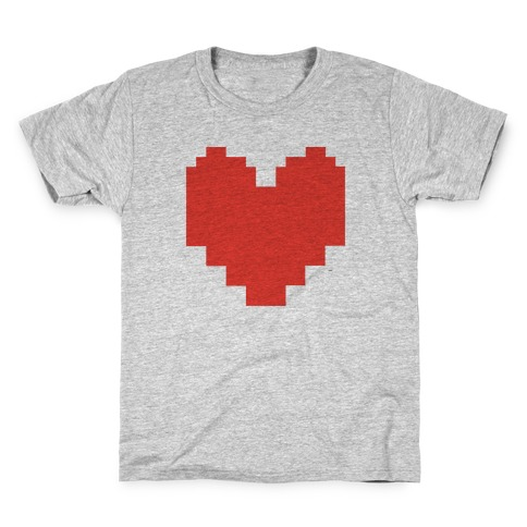 Undertale Pixel Heart Kids T-Shirt