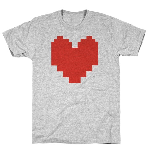 Undertale Pixel Heart T-Shirt