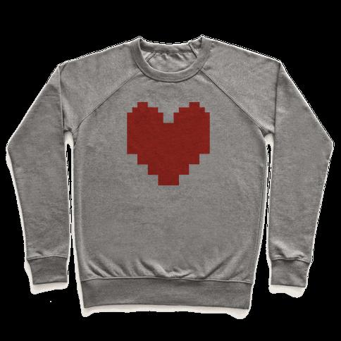 Undertale Pixel Heart Pullover