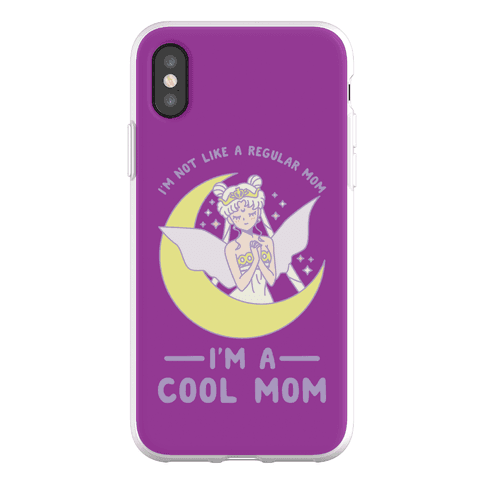 I'm a Cool Mom Neo Queen Serenity Phone Flexi-Case