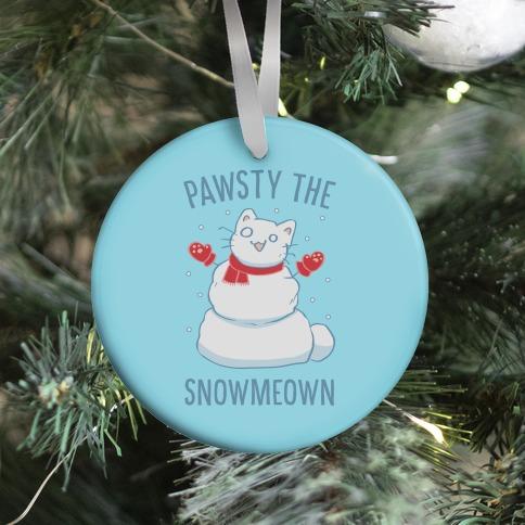 Pawsty The Snowmeown Ornament