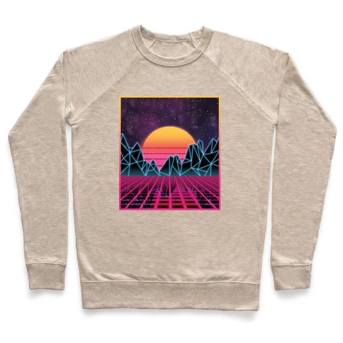 Synthwave Pullover