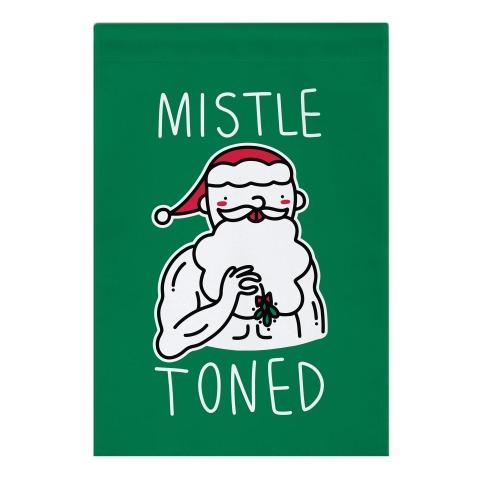 Mistle Toned (Santa) Garden Flag