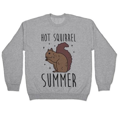 Hot Squirrel Summer Pullover