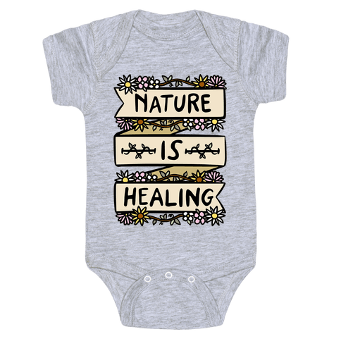 Nature Is Healing Baby One-Piece