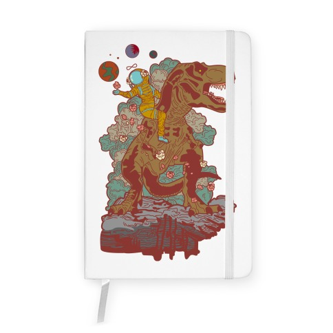 Dinosaur Strength Tarot Notebook