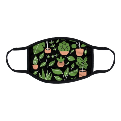 Plant Daddy Flat Face Mask