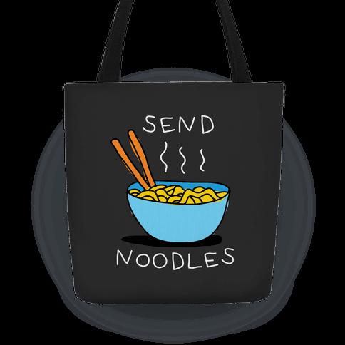 Send Noodles Tote