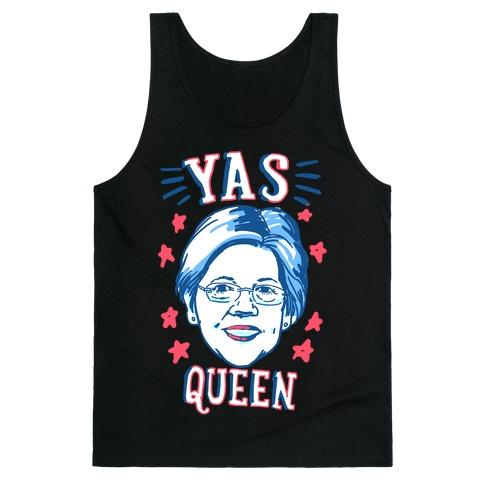 Yas Queen Elizabeth Warren Tank Top