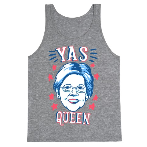 Yas Queen Elizabeth Warren Tank Top