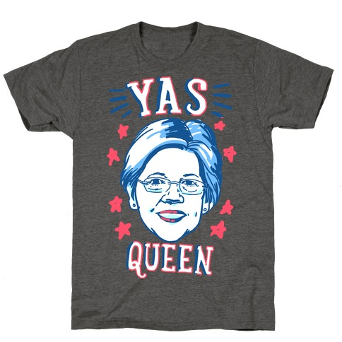 Yas Queen Elizabeth Warren T-Shirt
