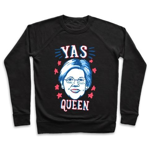 Yas Queen Elizabeth Warren Pullover