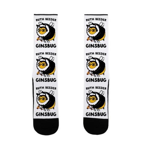 Ruth Beeder Ginsbug Sock