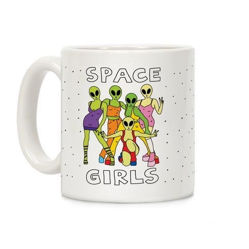 Space Girls Coffee Mug