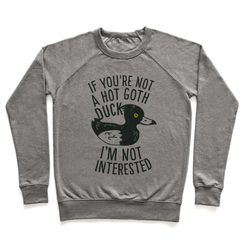 Hot Goth Duck Pullover
