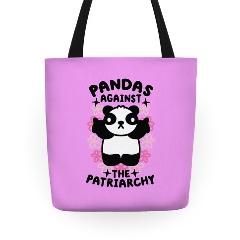 Pandas Against the Patriarchy Tote