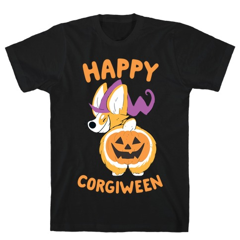 Happy Corgiween! Mens T-Shirt