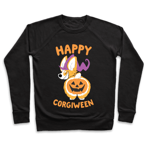 Happy Corgiween! Pullover