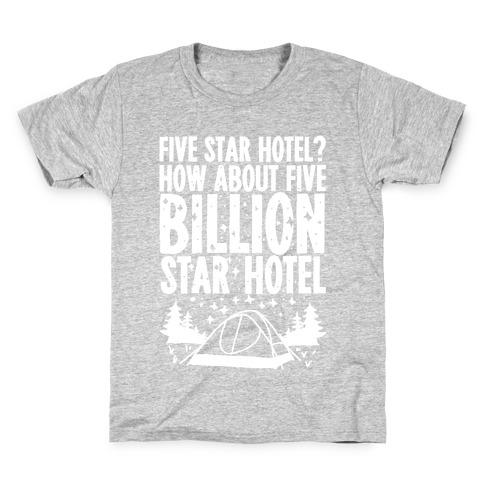 Five Billion Star Hotel Kids T-Shirt