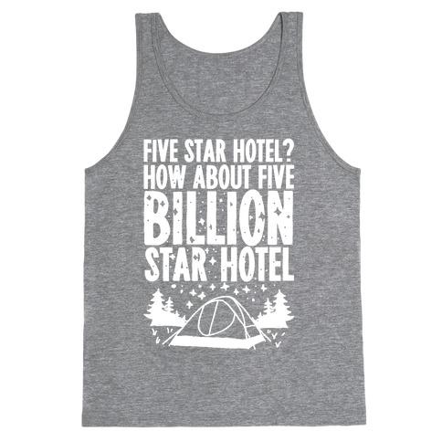 Five Billion Star Hotel Tank Top
