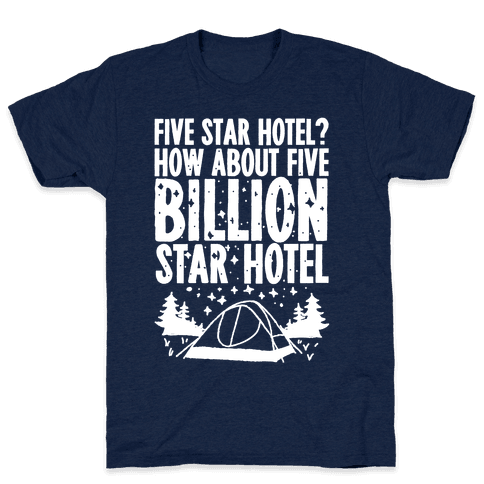Five Billion Star Hotel Mens T-Shirt