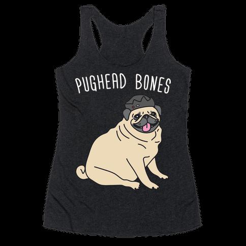 Pughead Bones Racerback Tank Top