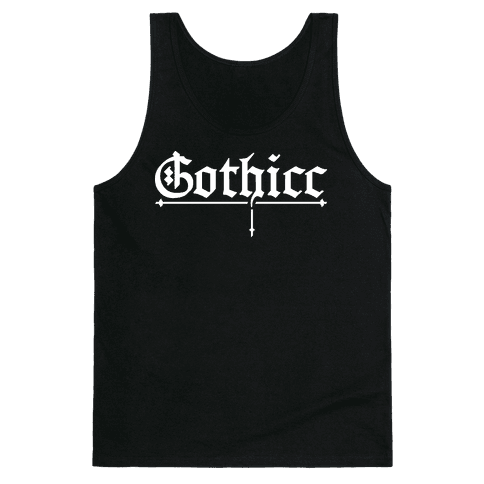 Gothicc Tank Top