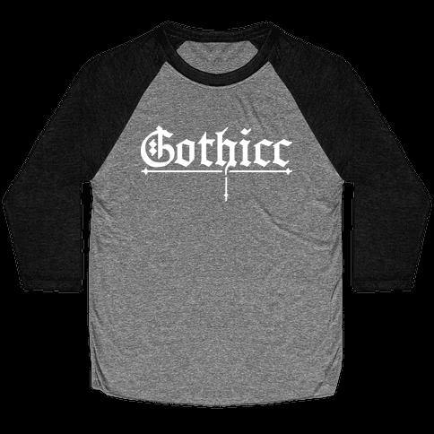 Gothicc Baseball Tee