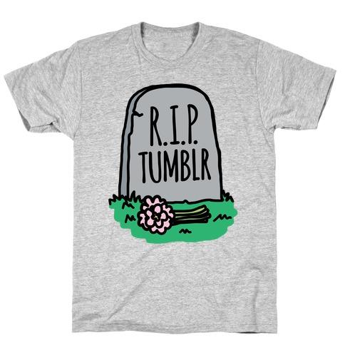 R.I.P. Tumblr T-Shirt