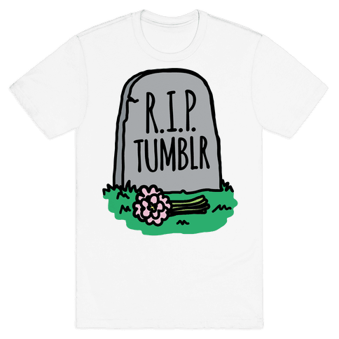 R.I.P. Tumblr Mens T-Shirt