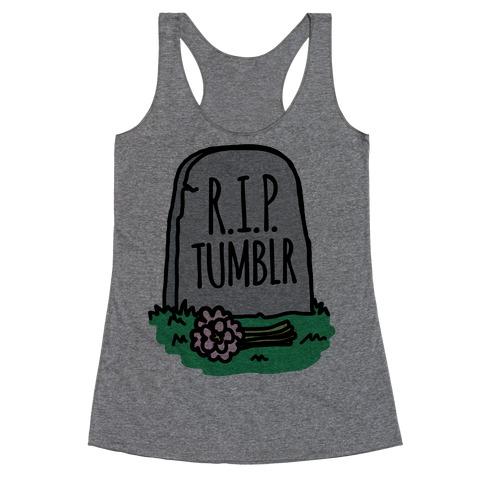 R.I.P. Tumblr Racerback Tank Top