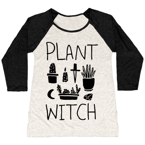 Plant Witch Baseball Tee