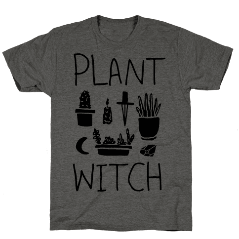 Plant Witch Mens T-Shirt