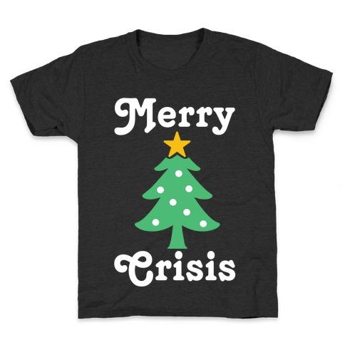 Merry Crisis Kids T-Shirt