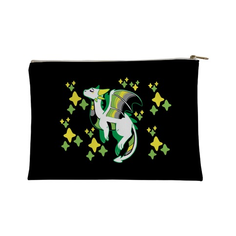 Aromantic Pride Dragon Accessory Bag