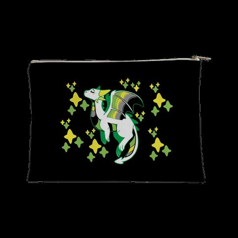 Aromantic Pride Dragon Accessory Bag