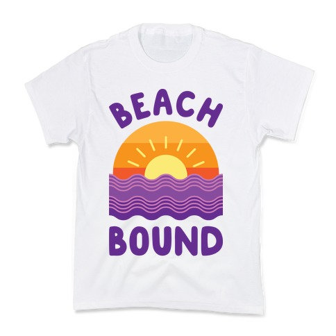 Beach Bound Kids T-Shirt