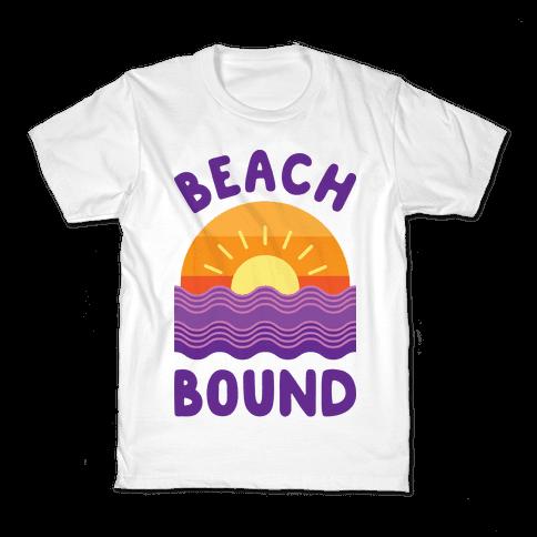 Beach Bound Kids T-Shirt