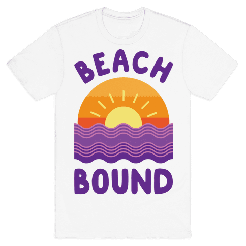 Beach Bound Mens T-Shirt