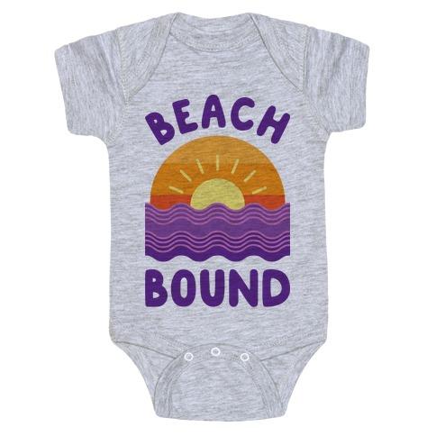 Beach Bound Baby Onesy