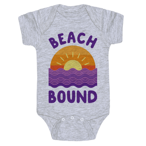 Beach Bound Baby Onesy