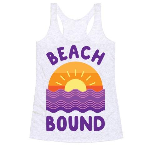 Beach Bound Racerback Tank Top