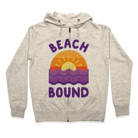 Beach Bound Zip Hoodie