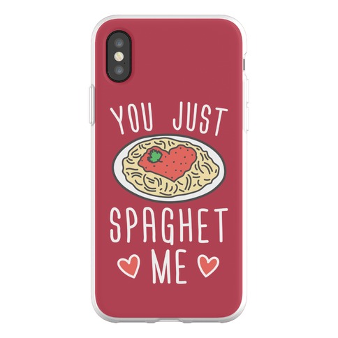 You Just Spaghet Me Phone Flexi-Case