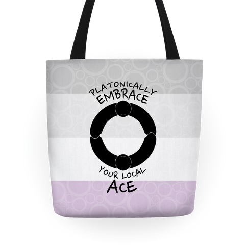 Platonically Embrace Your Local Ace Tote